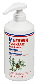 gehwol fusskr rood 500 ml met pomp
