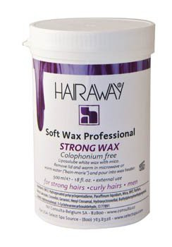 hairaway strong wax 500 ml plastiek pot
