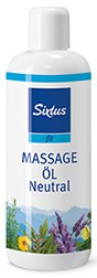 sixtufit massage olie neutraal 500ml