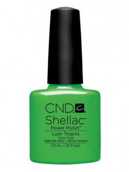 cnd shellac lush tropics 7,3 ml