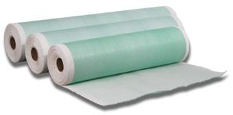 geplast. onderzoektafelrol groen 75m/50cm