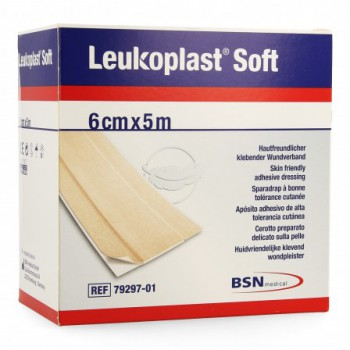 leukoplast soft anti-all 6 cm x 5 m
