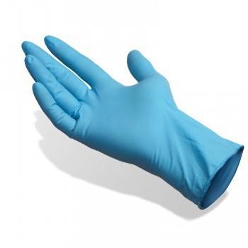 handschoenen nitrile m 100 stuks blauw