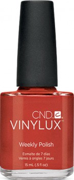 cnd vinylux fine vermillion 15ml