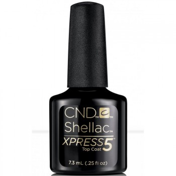 cnd shellac xpress 5 top coat 7,3 ml