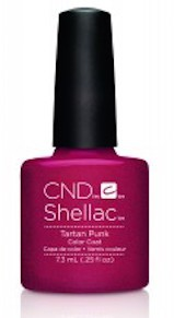 cnd shellac tartan punk 7,3 ml