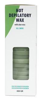 warme epilatie wax met aloe vera voor alle huidtypes