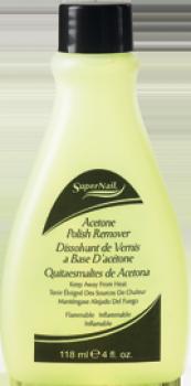 dissolvant polish remover 118 ml supernail met aceton