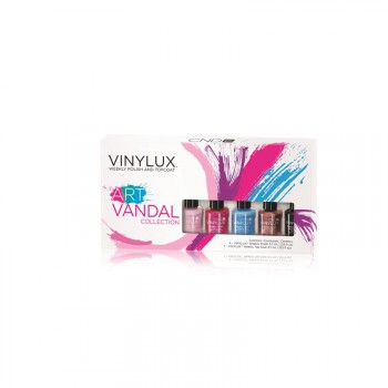 cnd vinylux art vandal pinkies klein 5x4ml