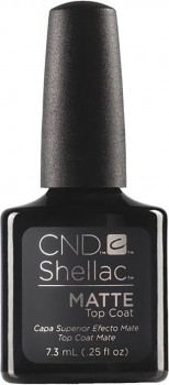 cnd shellac matte top coat 7,3ml