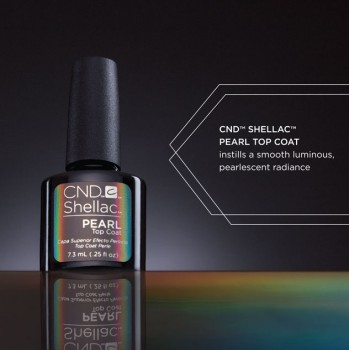 CND SHELLAC Pearl Top Coat 7,3ml