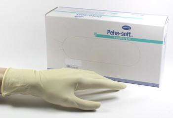 handschoenen peha soft latex s 100 stuks poedervrij