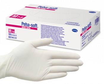 handschoenen peha soft nitrile m 200 stuks wit