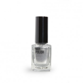 gd nail polish silver ring 11ml