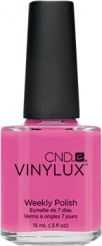 cnd vinylux hot pop pink 15ml