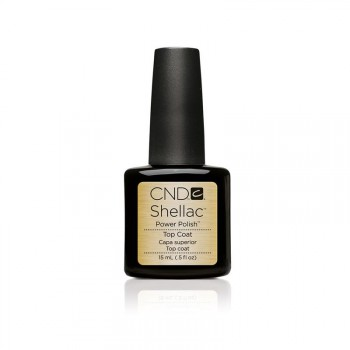 cnd shellac uv top coat 15 ml