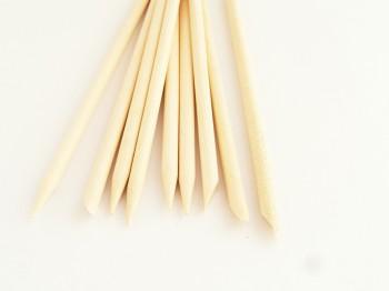 citroen houten stokjes 10 cm 10 stuks