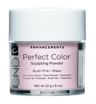 cnd perf color blush pink sheer 22 gr