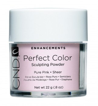 cnd perf color pure pink sheer 22 gr