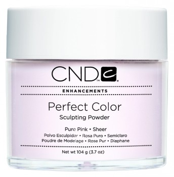 cnd perf color pure pink sheer 104 gr