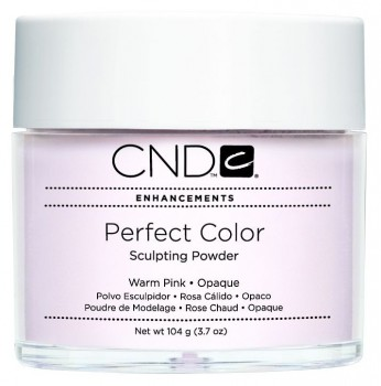 cnd perf color warm pink opaque 104 gr