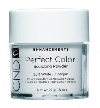 cnd perf color soft white opaque 22 gr