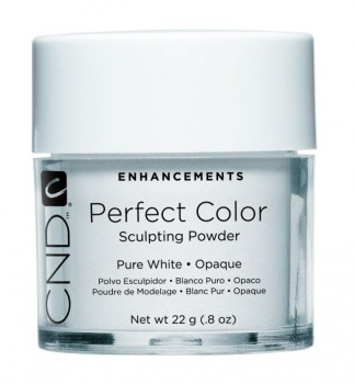 cnd perf color pure white opaque 22 gr