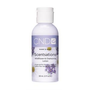 cnd hand & bodylotion 60 ml wildflower & chamomile