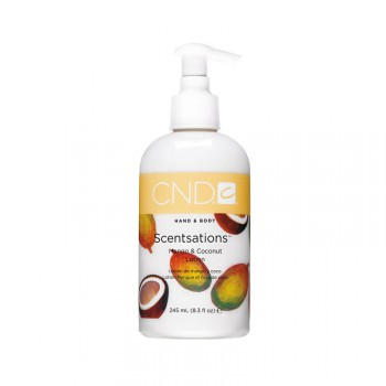 cnd hand & bodylotion 245 ml mango & coconut