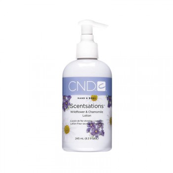 cnd hand & bodylotion 245 ml wildflower & chamomile