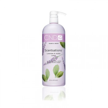 cnd hand & bodylotion 917ml lavender & jojoba