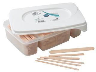 kit met houtenspatels 3 formaten