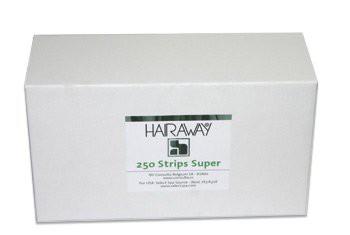 hairaway ontharingstrips super non woven 250 stuks (in doos)