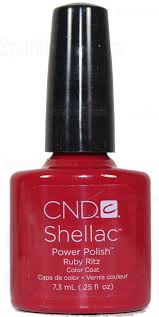 cnd shellac ruby ritz 7,3 ml