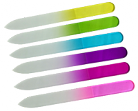 design glass nail file different colors 1st