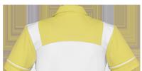 schort carmen 26 wit/groen-geel s