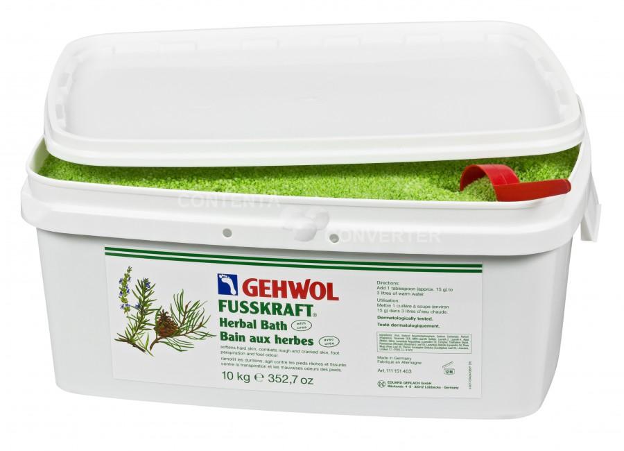 GEHWOL FUSSKR KRUIDENBAD 10 kg