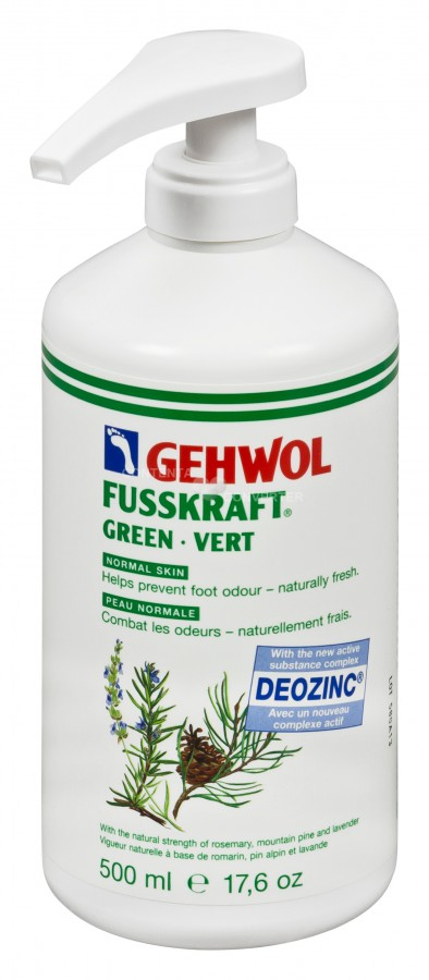 gehwol fusskr groen 500 ml met pomp