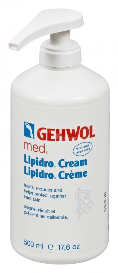 gehwol lipidro creme 500 ml met pomp