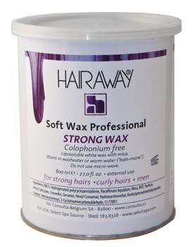 hairaway strong wax 800 ml metalen pot