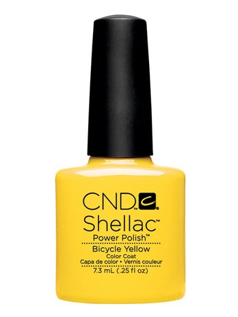 cnd shellac bicycle yellow 7,3 ml