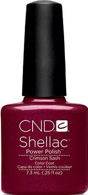 cnd shellac crimson sash 7,3 ml