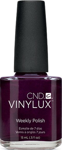 cnd vinylux plum paisley 15ml