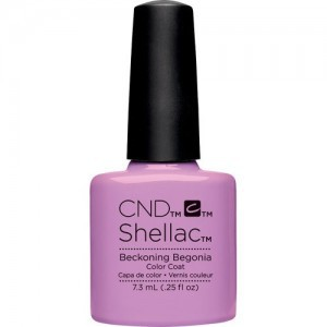 cnd shellac beckoning begonia 7,3 ml