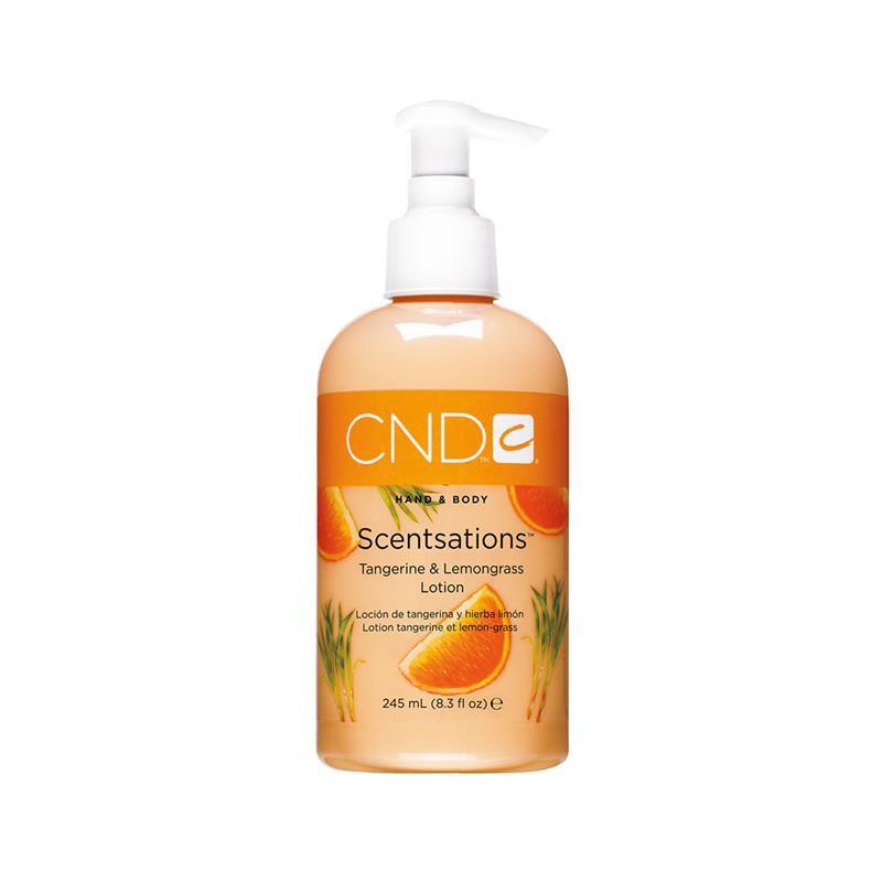cnd hand & bodylotion 60 ml tangerine & lemongrass