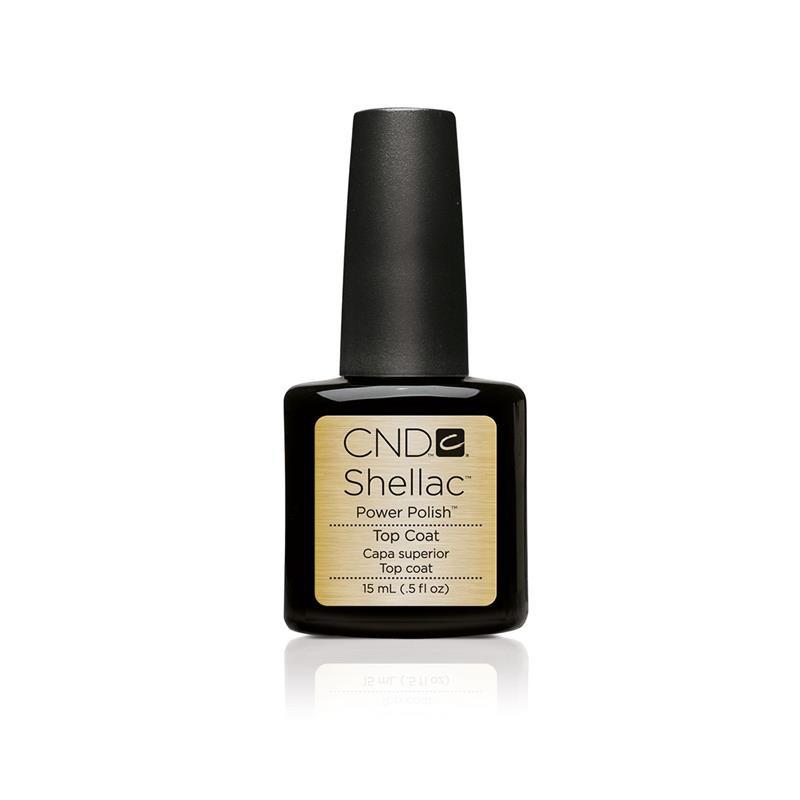cnd shellac top coat 15 ml