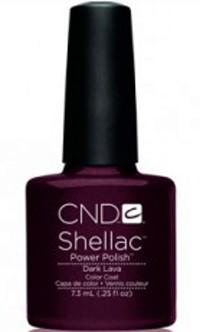 cnd shellac dark lava 7,3 ml