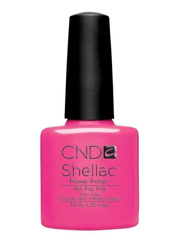 CND SHELLAC Hot Pop Pink 7,3 ml