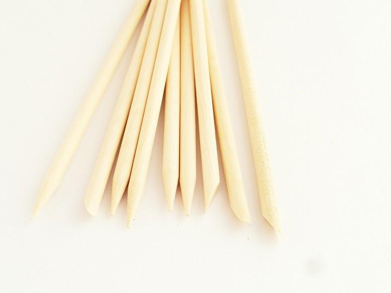 citroen houten stokjes 18 cm 10 stuks