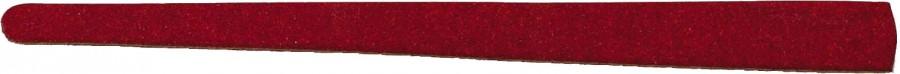 kartonnen vijltjes 16,50 cm black/red